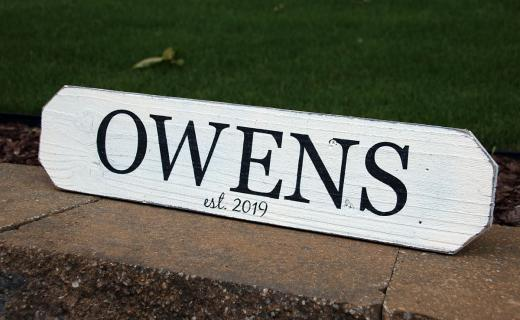 Personalized Wood Signs Home Decor Home Decor