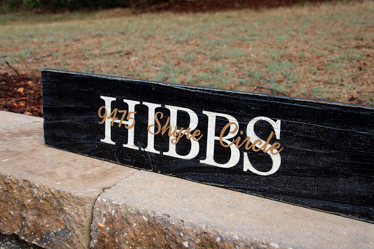 Fresh Family Name with Established Date Painted Wood Sign (2ft) | Signs  TR24