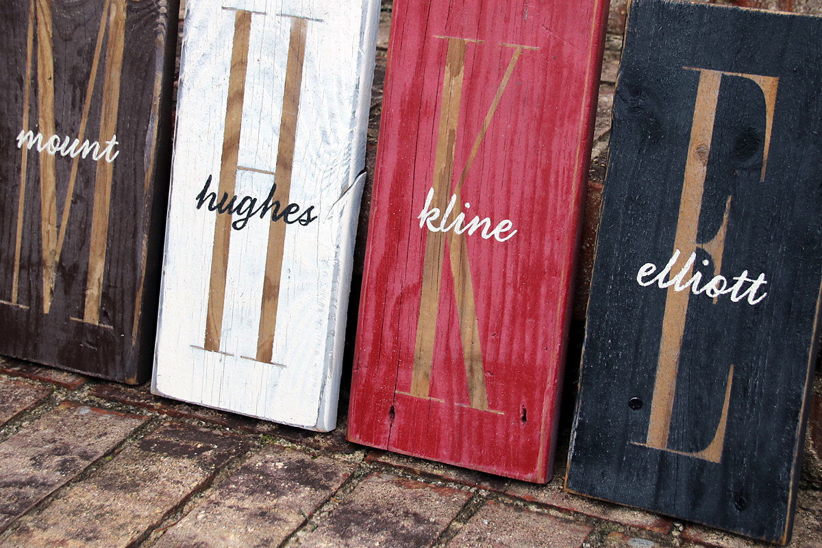 Hand Crafted Painted Wood Signs Signs By Andrea