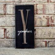 1ft Monogram w/Overlay Sign