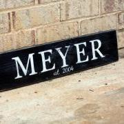 2ft Personalized Sign
