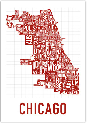 Chicago International Poster