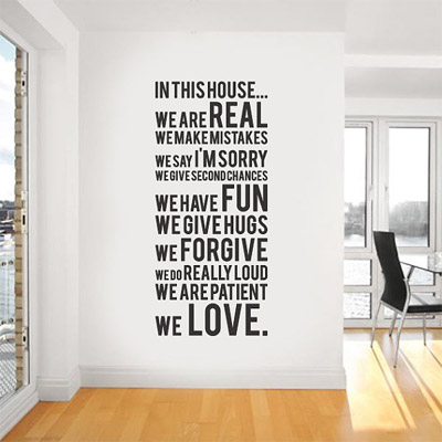 Family Room Ideas Pictures on Family Room Artwork Ideas   Signs By Andrea