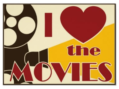 moviethemed home theater decorating ideas signs by andrea