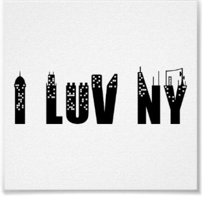 I love new york