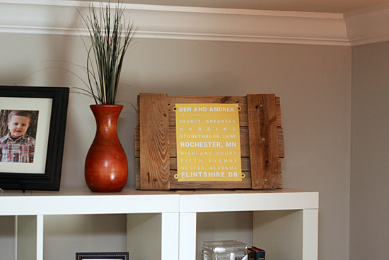 Easy Scrap Wood Frame