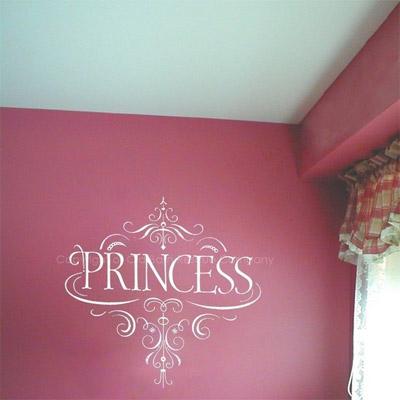 Princess Wall Decor non-disney princess decor | signsandrea