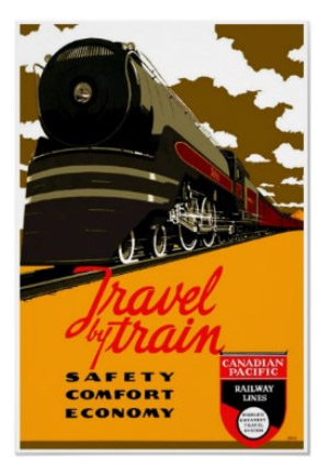 Great Western 5037 Leaving Reading Station - Painting by ... |Reading Railroad Train Art Prints