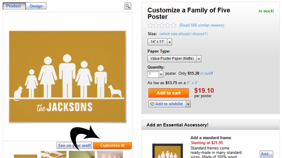 Customize Your Family Poster Tutorial