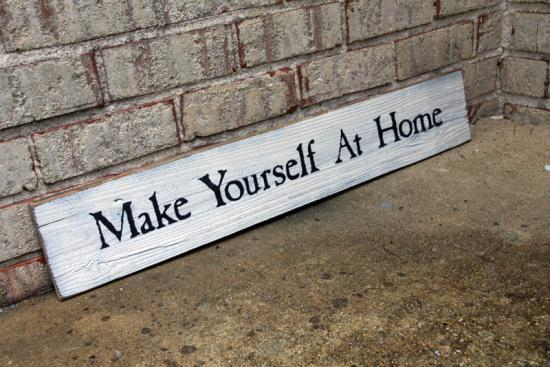 custom painted signs signs by andrea. Black Bedroom Furniture Sets. Home Design Ideas