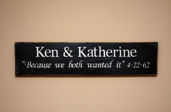 Custom Sign - Couple