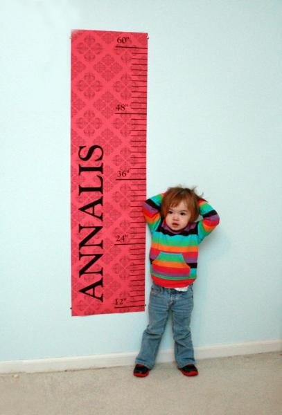 Personalized Growth Chart - (de)Signs by Andrea