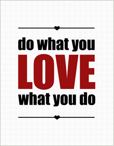 Do What You Love What You Do Artwork