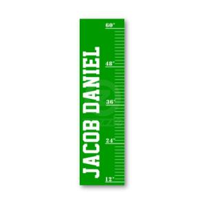 Personalized Growth Chart - Field