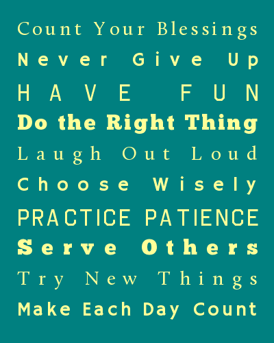 Kitschy - Customized House Rules Posters