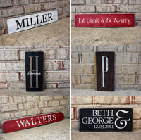 Signs by Andrea - personalized wood signs