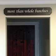 3ft Custom Sign above doorway