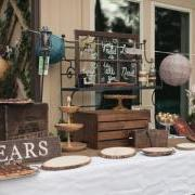 2ft Personalized Sign - On Dessert Table At Wedding