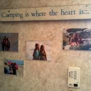 Custom Sign - on camper wall!