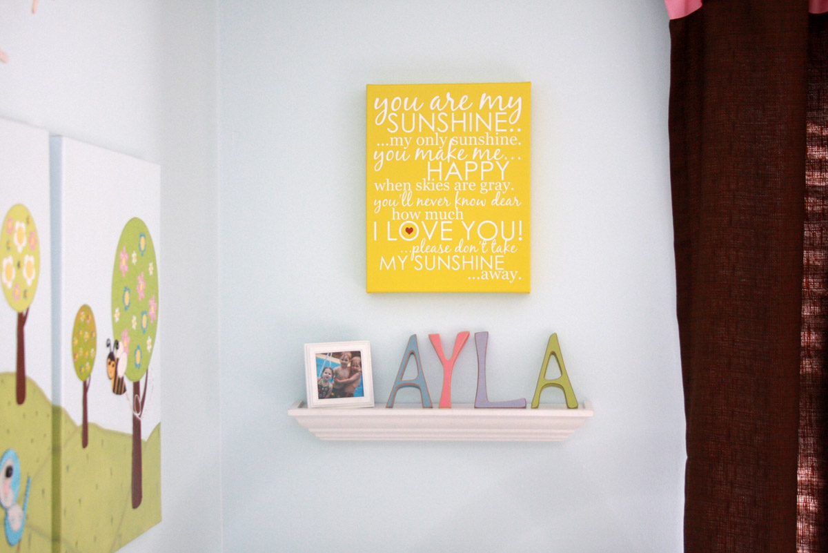 Zazzle Canvas Review | Signs by Andrea